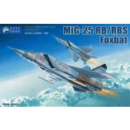 Mikoyan Mig-25RB/RBS Foxbat with upgrade resin part