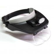 LED Lamp Headband Magnifier