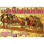 The Silk Road in Ancient Times 28 figures in 7 poses + 8 camels + jak