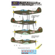 Bell P-400/P-39M Airacobra over Portugal (2 decal options) (designed to be used with Revell kits) [P-39Q]