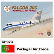 Dassault-Mystere Falcon 20 (Decals Portugal Air Force)