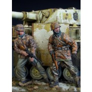 Ambush SS Panzergrenadiers 2 Resin Figures Kit