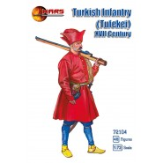 Turkish Infantry (Tufekei) XVII century