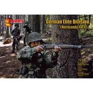 German Elite Division (Normandy 44-45)(WWII) 40 figures/8 poses