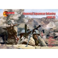 Imperial japanese infantry (WWII) 40 figures/8 poses
