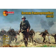 Panzergrenadiers (WWII) 40 figures/8 poses