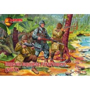 Imperial Japanese paratroopers (WWII) 40 figures in 8 poses