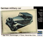 German Military Car, Typ 170 V Tourenwagen 4 Turn 1937-1940 (Mercedes)