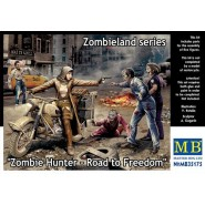 Zombie Hunter - Road to Freedom, Zombieland Series (includes 5 figures BUT NO MOTORBIKE)