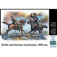 British and German Cavalrymen WWI Era