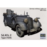German Sd.Kfz.2 Type 170VK Radio car