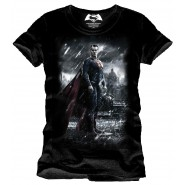 Batman v Superman Dawn of Justice T-Shirt Superman (Size: XL)