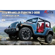 Jeep Wrangler Rubicon 2-Door 10th Anniversary Edition Model Kit