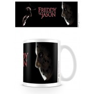 Freddy vs Jason Faces Off Mug