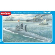 'Peral' The worlds first electric powered submarine.