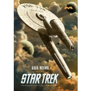 Star Trek: USS Kelvin (11 x 7 Inches)