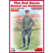 The Red Baron - Manfred von Richthofen, WWI Flying Ace