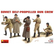 SOVIET SELF-PROPELLED GUN CREW