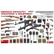 German Infantry WWII equipment and weapons