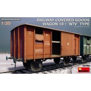 "RAILWAY COVERED GOODS WAGON 18t ""NTV"" TYPE"