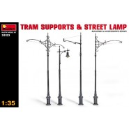Tram Supports and Street Lamps