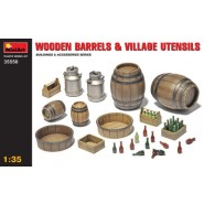 Wooden Barrels & Village Utensils