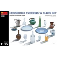 Household Crockery & Glass Set (82 parts)