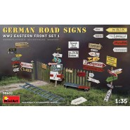 GERMAN ROAD SIGNS WW2 (EASTERN FRONT SET 1)