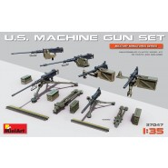 U.S. Machine gun set with etched parts