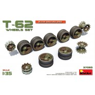 Soviet T-62 Wheel Set (designed to be used with Mini Art kits)