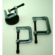 3 x G-Clamps and Magnet