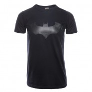 Batman - Black on Black Bat T-Shirt  (Size: S)