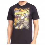 Borderlands 2 Characters T-Shirt Black (Size: M)
