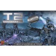Chrome Plated Terminator 2 T-800 Endoskeletons (Kit)