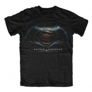 Batman v Superman Dawn of Justice T-Shirt Logo (Size: S)