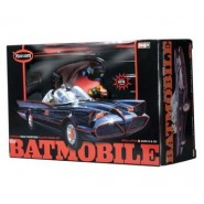 Batmobile from classic 1966 Television show with Batman and Robin Figures - snap kit