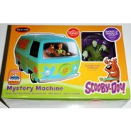 Scooby-Doo Mystery Machine. Includes pre-painted Scooby and Shaggy figures and a Creepy Monster. Snap together kit