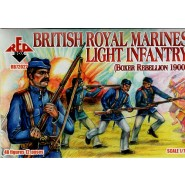 British Royal Marines Light Infantry (Boxer Rebellion 1900) 48 figures 12 poses