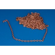 Brass Chain ( Chain link = Large 1.45mm x 0.95 Height)