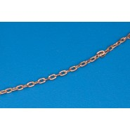 Brass Chain ( Chain link = Large 1.90mm x 1.10mm Height)