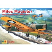 Miles Magister with PE parts (c/decalques F.A.P.)