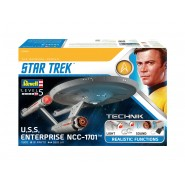 Star Trek U.S.S. Enterprise NCC-1701 Features Flashing lights and sound