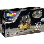 Apollo 11 Eagle Lunar Module (50th Anniversary of the Moon Landing) (includes paints, glue and paint brush)