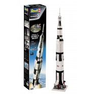 Apollo 11 Saturn V Rocket (50th Anniversary of the Moon Landing) (INCLUDES PAINTS, GLUE AND PAINT BRUSH)