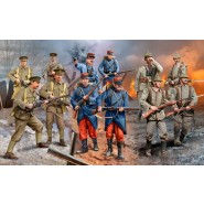 WWI German, British and French Figure Set