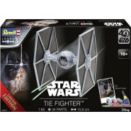 TIE Fighter (40 Years Star Wars) (includes paints, glue and brush)