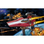 Star Wars: Build & Play Resistance A-Wing Fighter, Red
