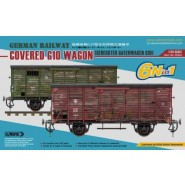 German Railway Covered G10 Wagon Train Van