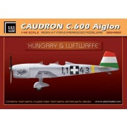 Caudron C.600 'Lufwaffe & Hungary Resin+PE+decal