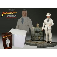 INDIANA JONES - Dr. René Belloq With Idol Chamber Environment Sideshow Exclusive